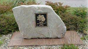 Shane Britton Memorial Rock